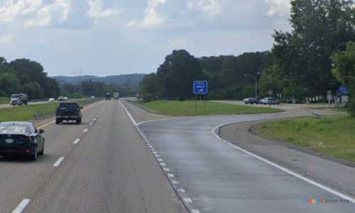 tn i40 tennessee jefferson county rest area westbound mile marker 425