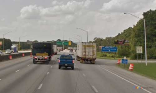 tn i75 tennessee chattanooga hamilton county welcome center northbound mile marker 0.7