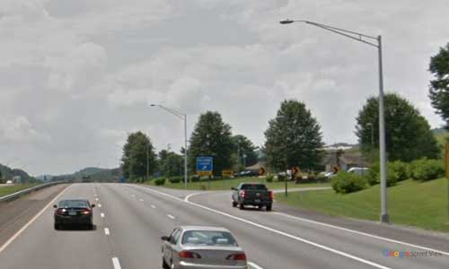 tn i81 tennessee bristol sullivan county welcome center southbound mile marker 75.3